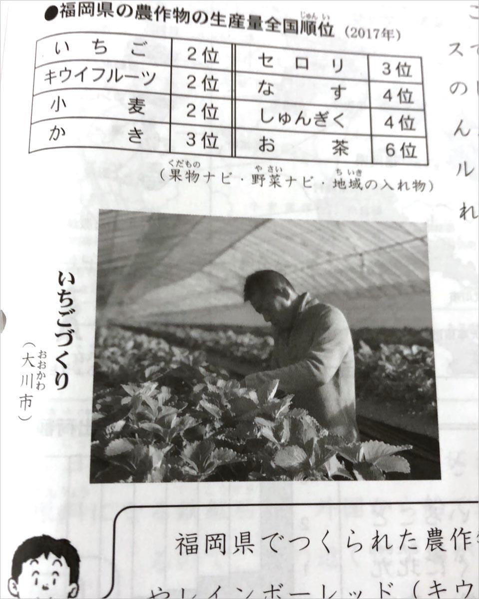 福岡県 小学4年生 社会の教科書